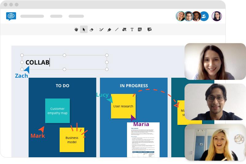 Remote Collaboration Online Whiteboard