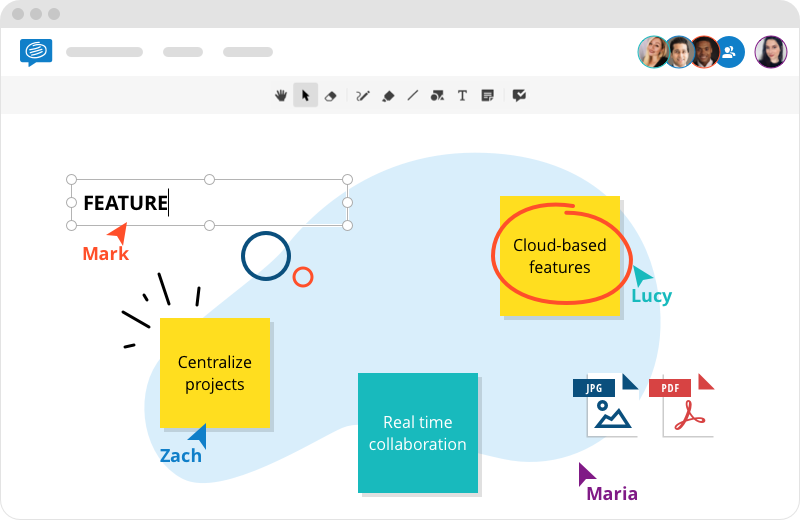 Conceptboard Online Whiteboard features
