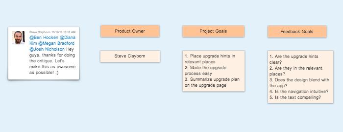 Design Critique Overview