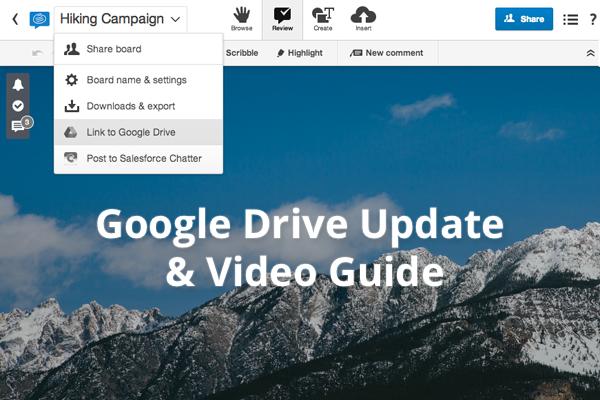 Conceptboard Google Drive New Video Guide
