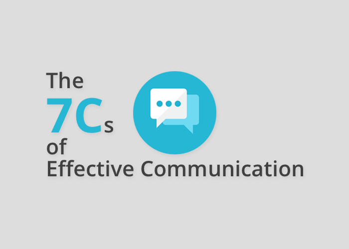 7cs of communication We reinterpreted the »7 c's« of effective business communication to fit scientific purposes see how they can help you to improve your scientific papers.