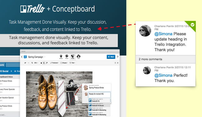 Adding comments and feedback directly over your content