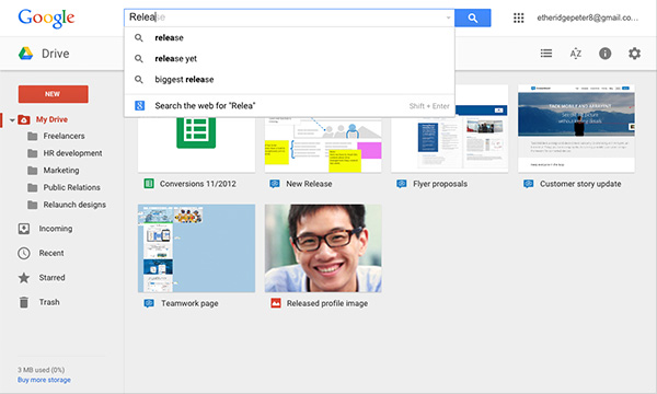 Link your boards in multiple Drive folders.