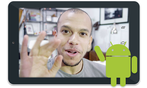 Use your Android table to video conference while on the go.