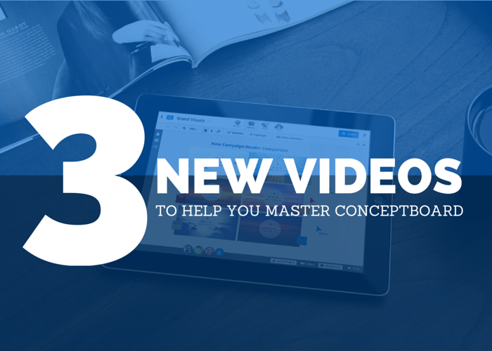 3 new Conceptboard Tutorial Videos for mastering Conceptboard