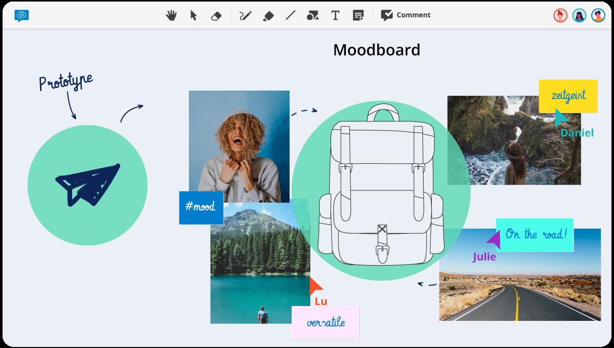 Mood Board Template Conceptboard
