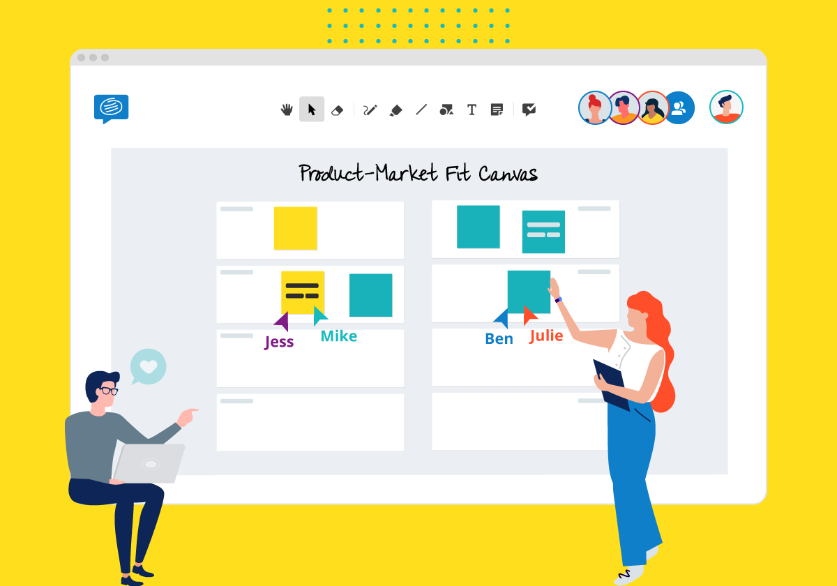 product market fit canvas template