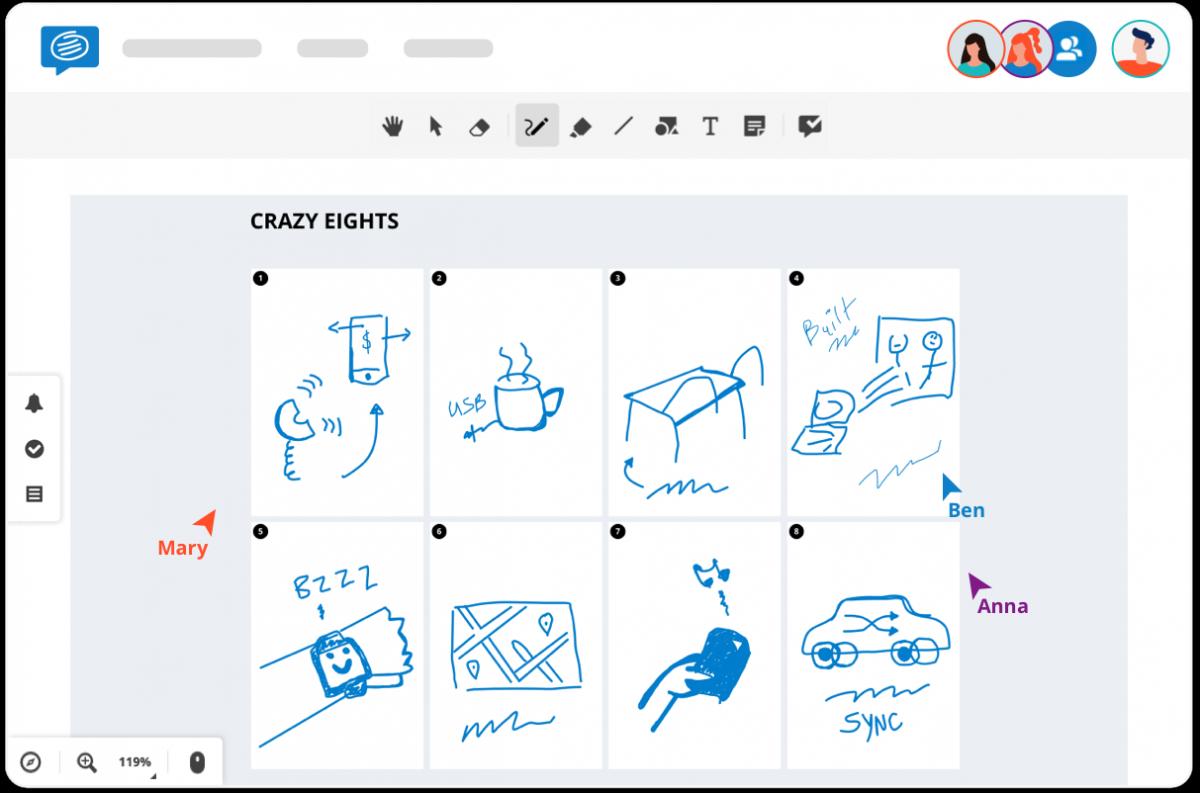 crazy eights design thinking