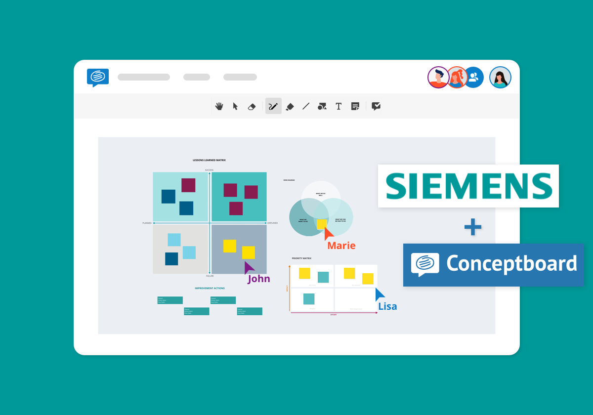 Siemens Conceptboard story