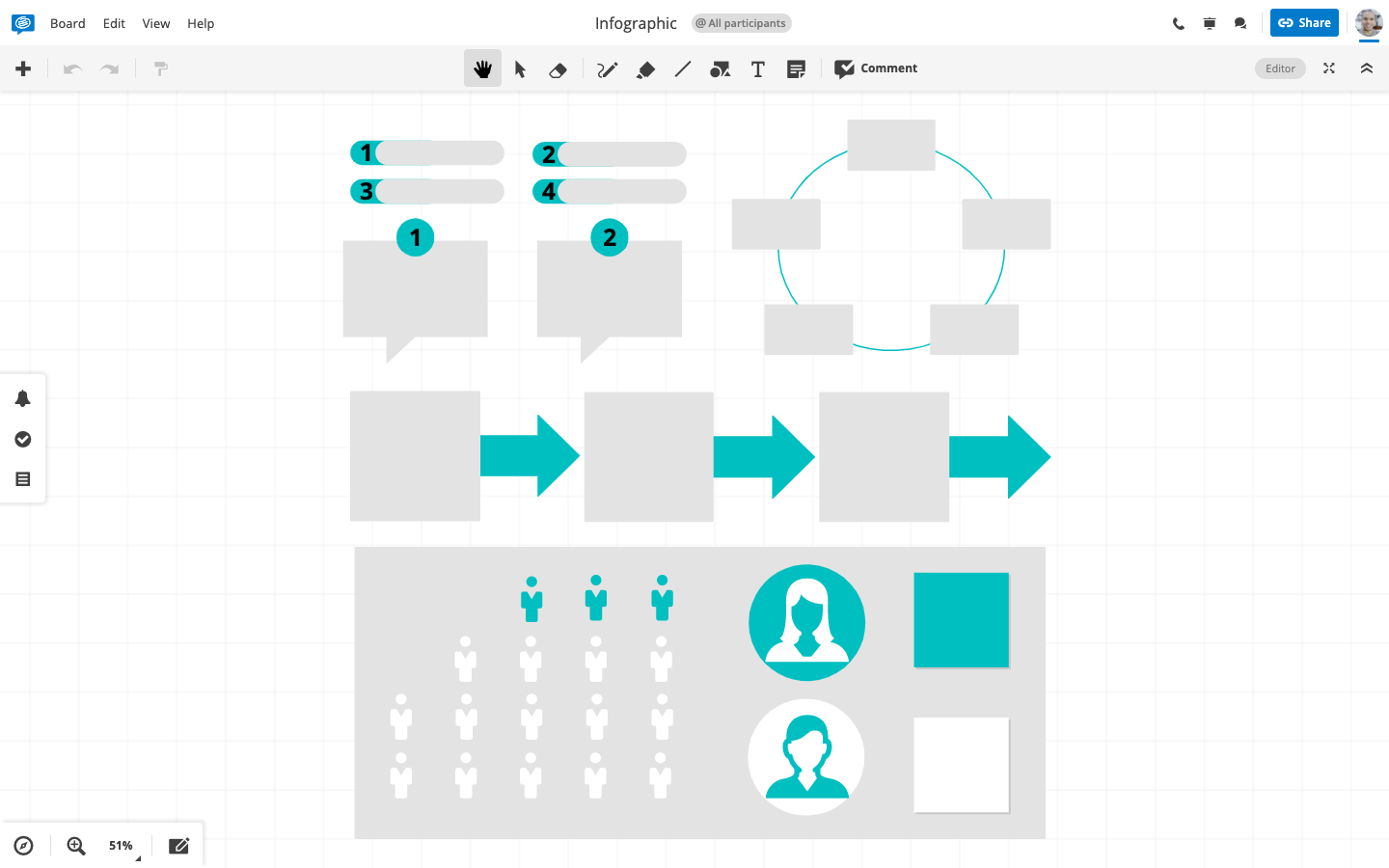 Conceptboard Infographic