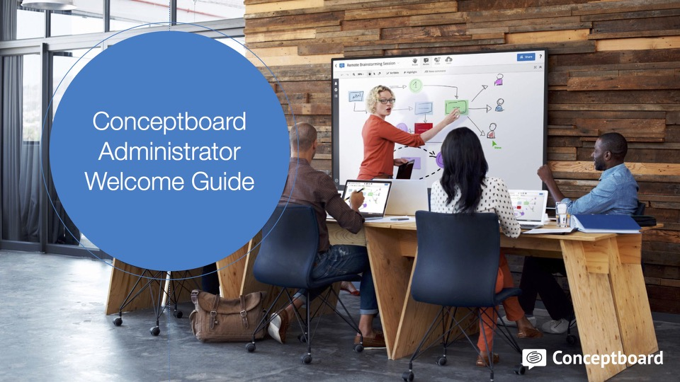 Conceptboard New Administrator Welcome Guide