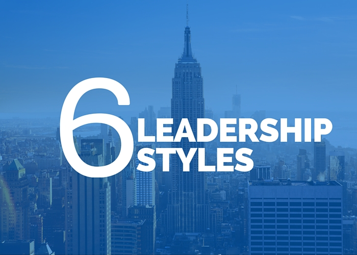 The 6 Leadership Styles Needed for a Productive Team