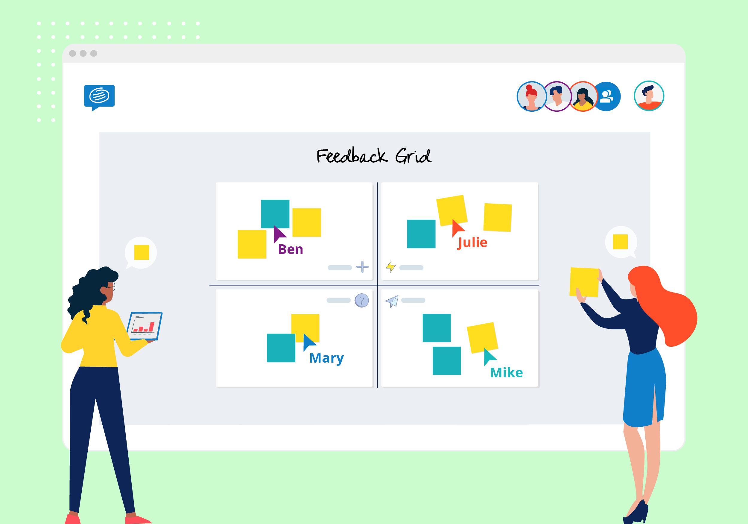 feedback grid template