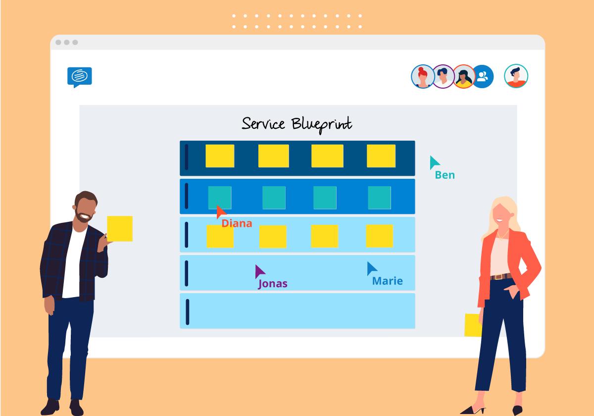 Service Blueprint online template