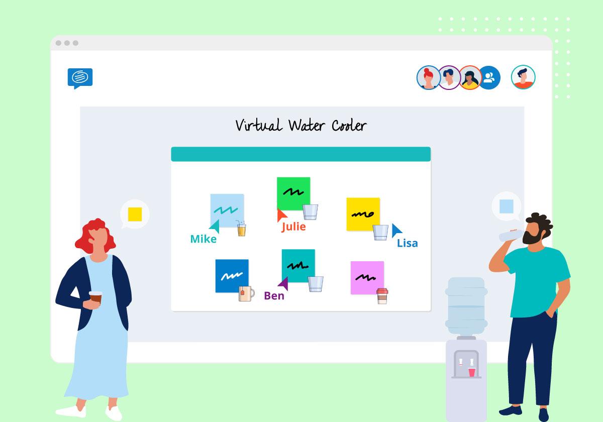 Virtual water cooler