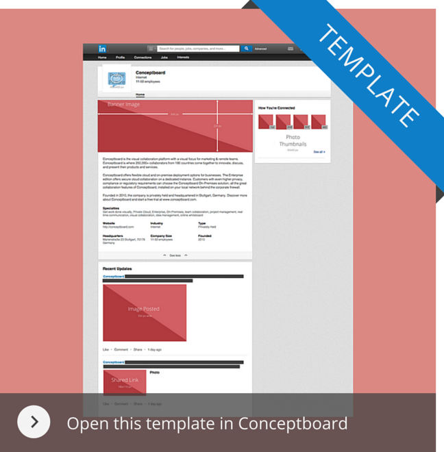 Image dimensions template for linkedin use the linkedin template in conceptboard maxwellsz