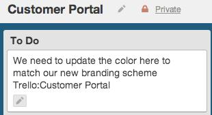 Customer portal todo list