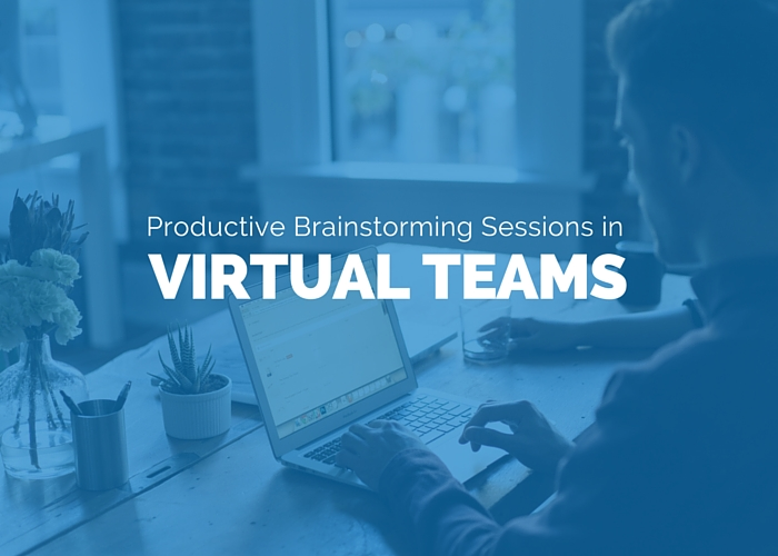 Productive Brainstorming Sessions in Virtual Remote Distributed Teams