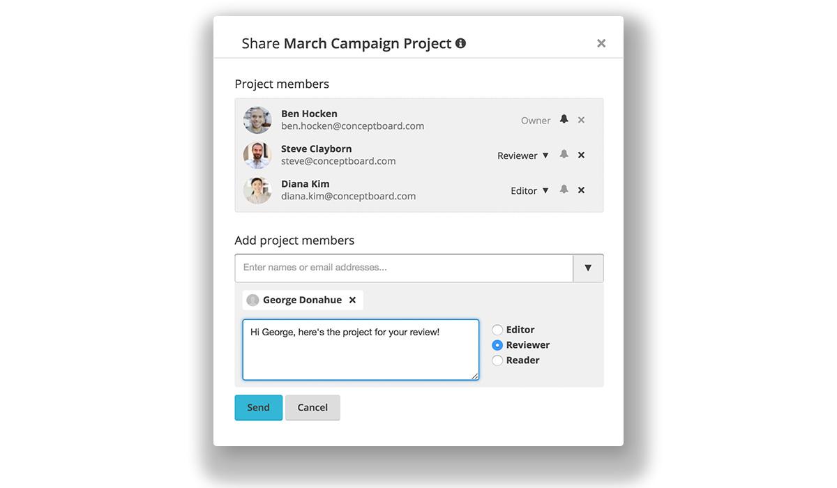 Conceptboard Campaign Project
