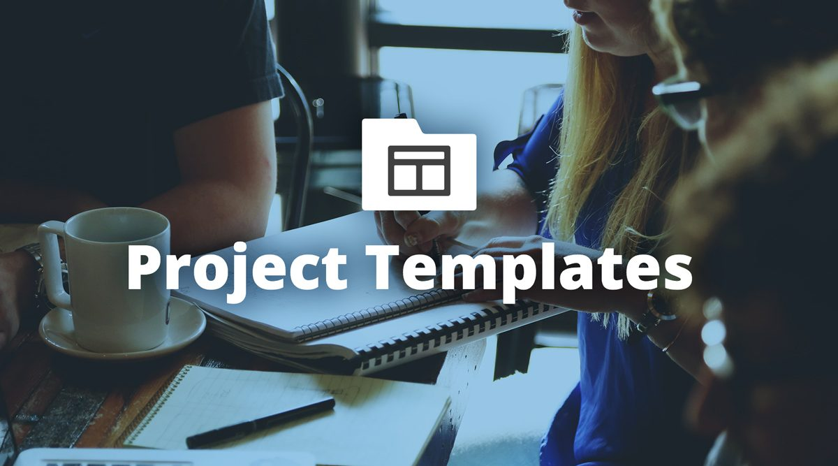 How to create your own custom project templates for Customizing project templates