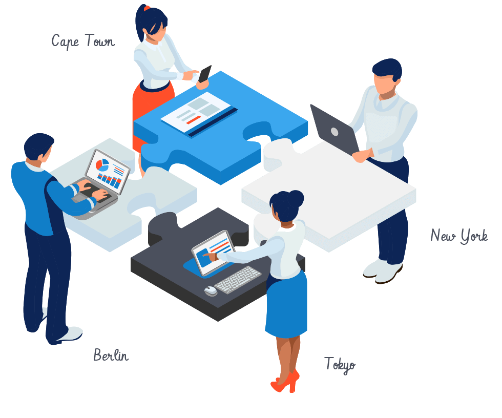 Conceptboard remote teams working together