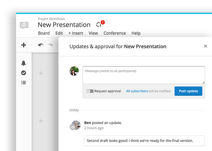 Conceptboard New Board Updates Dialog