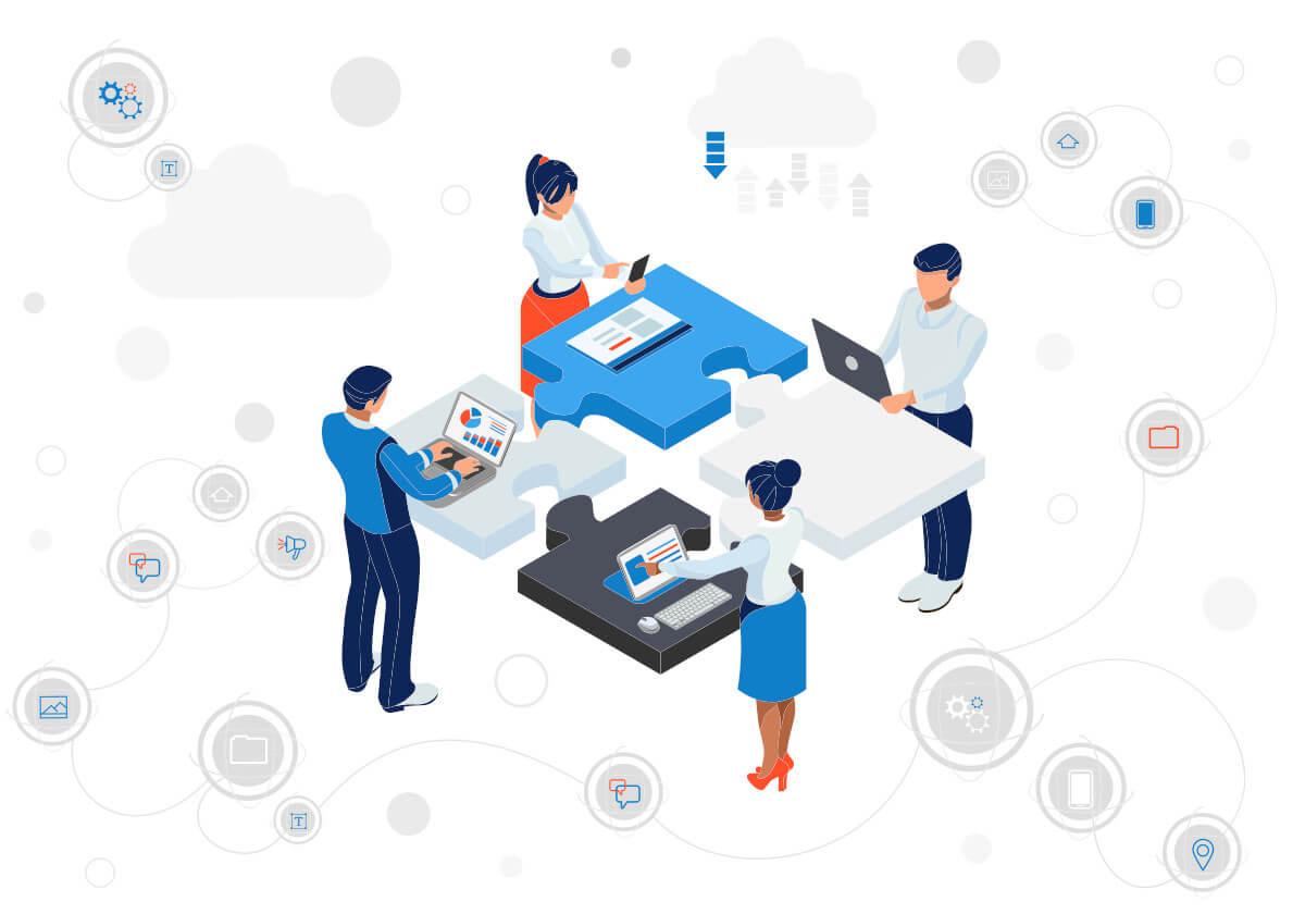 Digital transformation digitalization new work