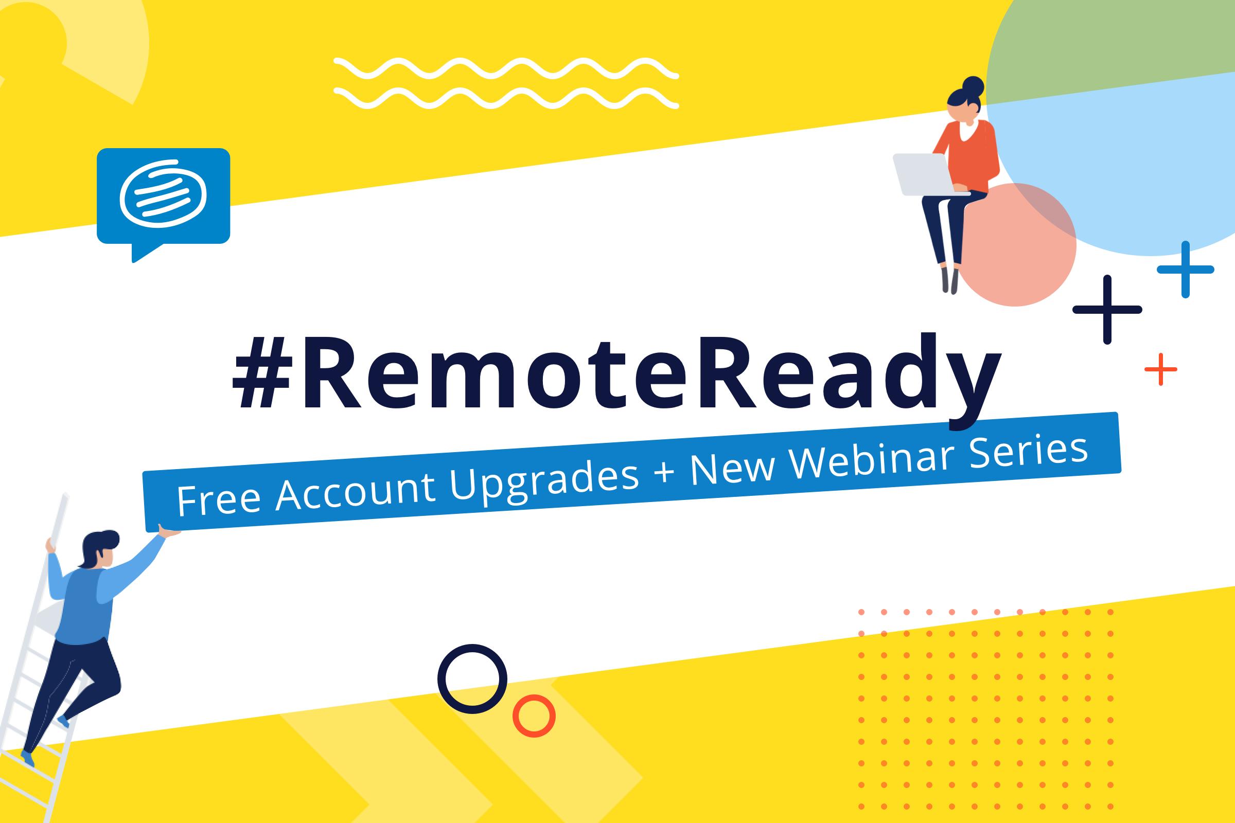 Remote ready Webinar conceptboard