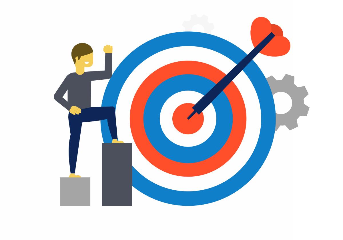 OKR goals Conceptboard template