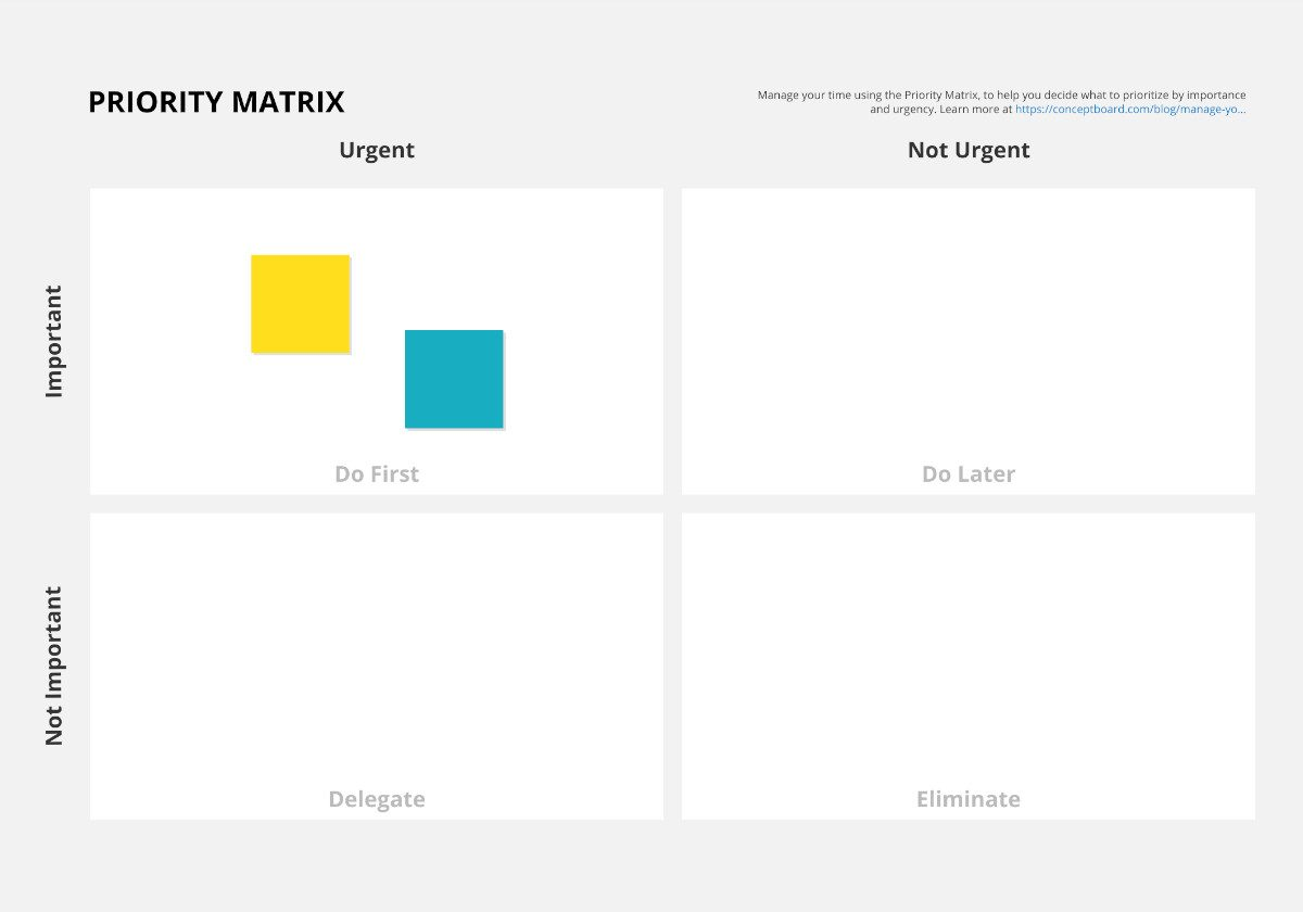 Priority Matrix Template