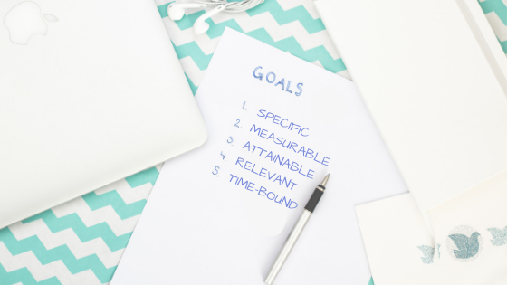 smart goals - specific, measurable, attainable, relevant, time-bound